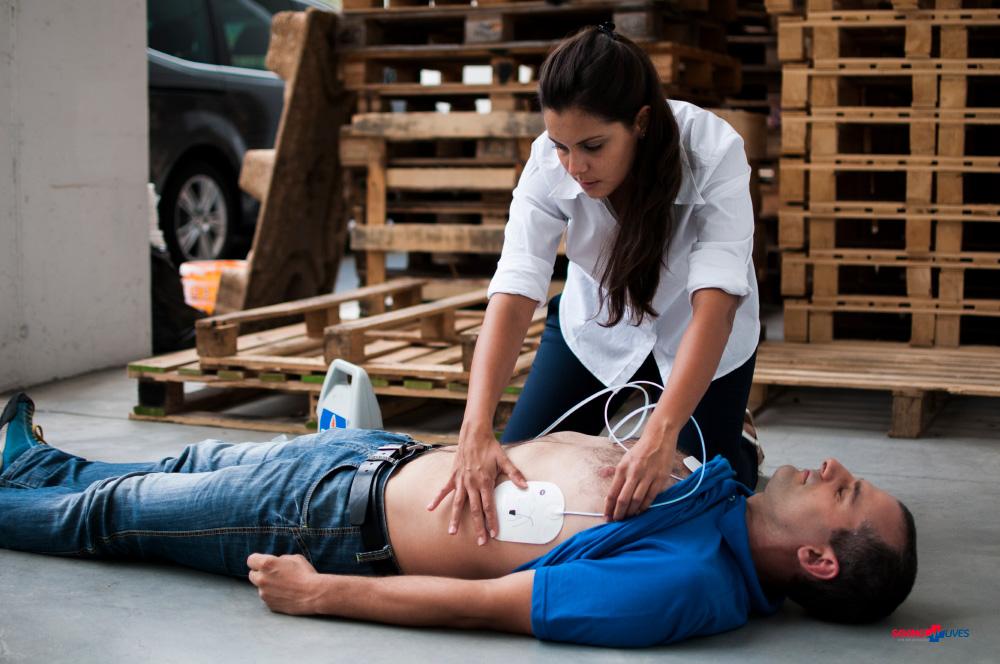EFR Reanimatie met een AED bij SavingLives