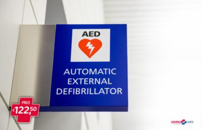 Automatic External Defibrilator bij SavingLives