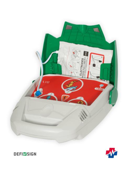 DefiSign LIFE AED volautomaat bij Savinglives EFR Opleidingen